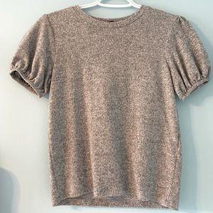 Grey Soft Knit Zara T Shirt
